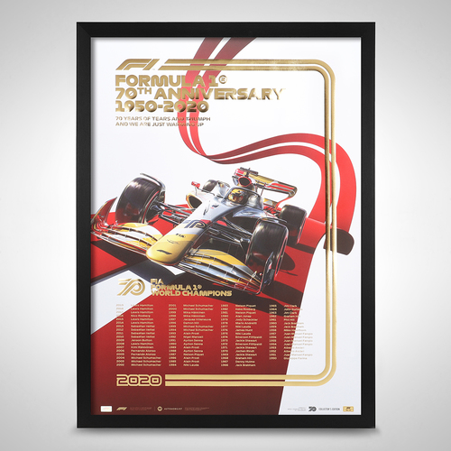 Photo of FIA Formula 1® World Champions 1950-2019 -70th Anniversary - Collector's Edition