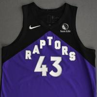 Pascal Siakam - Toronto Raptors - Game-Worn Earned Edition Jersey - Scored Team-High 27 Points - 2020-21 NBA Season