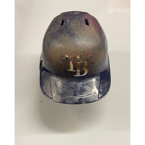 Photo of Game Used Home Run Batting Helmet: Brandon Lowe -  4 HRs, 5 RBIs (See Description for Details)