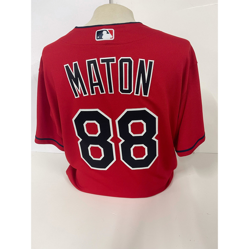 Photo of Team Issued Jersey - Phil Maton #88 - Size 48