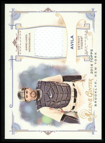 Photo of 2014 Topps Allen and Ginter Relics #FRBAA Alex Avila B