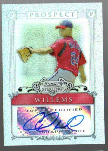 Photo of 2006 Bowman Sterling Prospects Refractors #CW Colten Willems AU