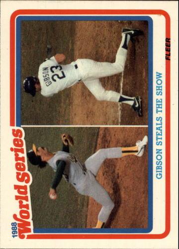 Photo of 1989 Fleer Glossy #WS5 Kirk Gibson