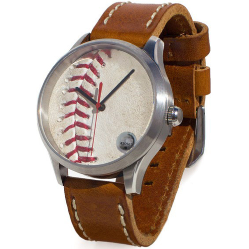 Photo of Cardinals Authentics: St. Louis Cardinals Game-Used Baseball Watch