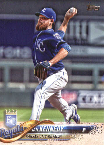 Photo of 2018 Topps #66 Ian Kennedy