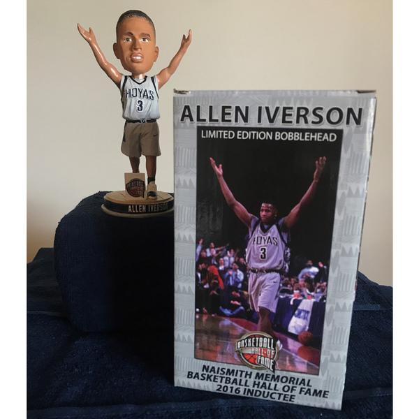 Photo of Limited Edition Allen Iverson Commemorative  Bobblehead
