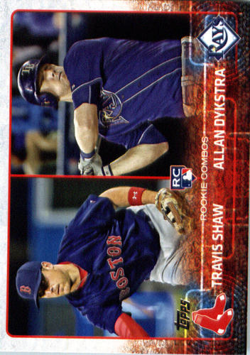 Photo of 2015 Topps Update #US41 Travis Shaw RC/Allan Dykstra Rookie Card