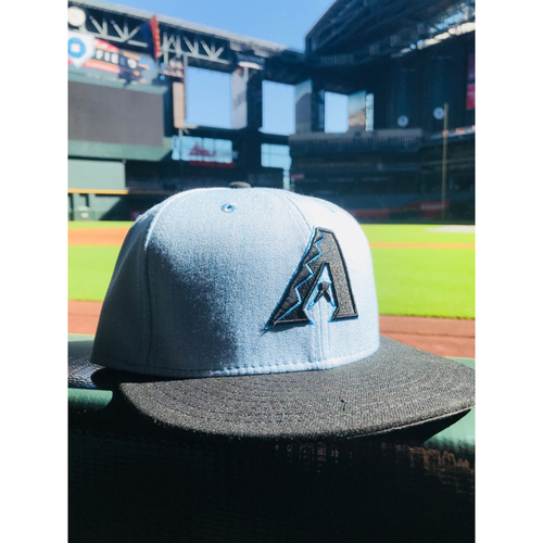 Photo of 2018 Game-Used Chris Owings Father's Day Cap
