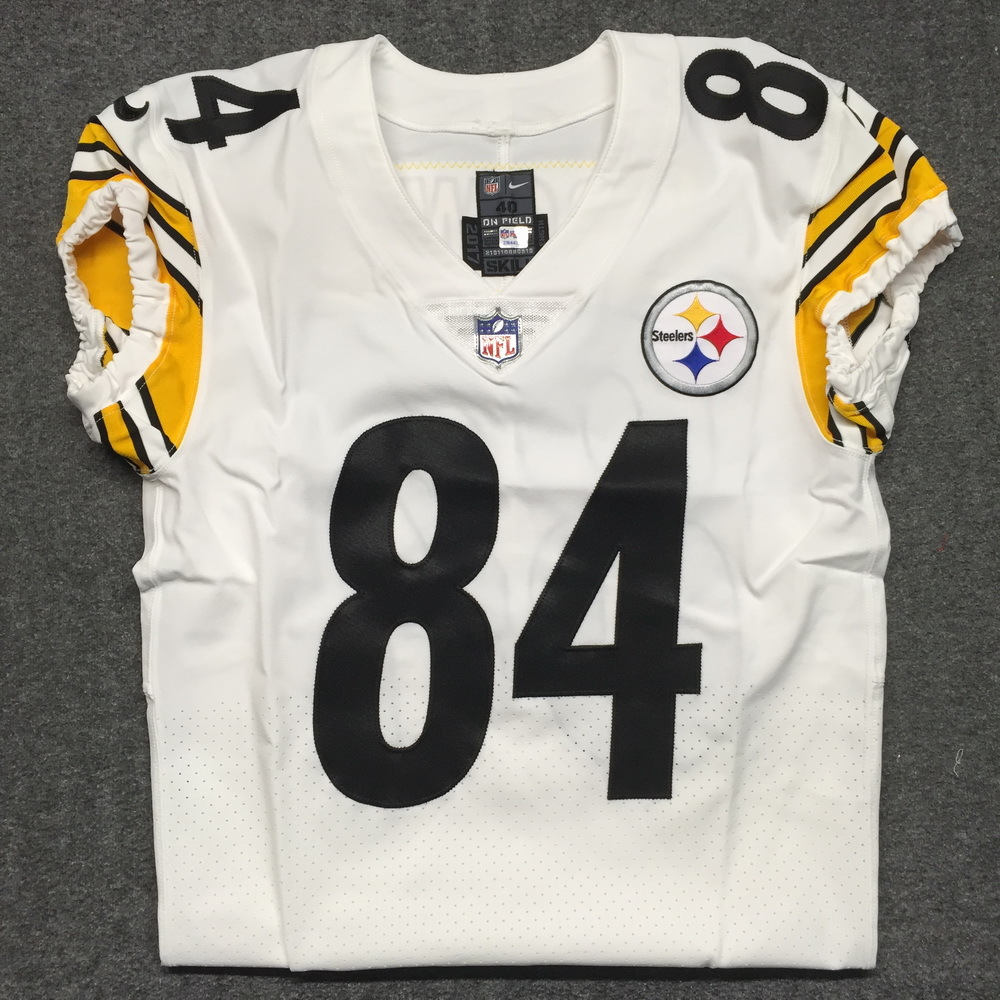 NFL Auction | STS - Steelers Antonio Brown game issued Steelers ...
