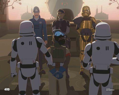 Tam Ryvora, Captain Doza, Pyre and Agent Tierny