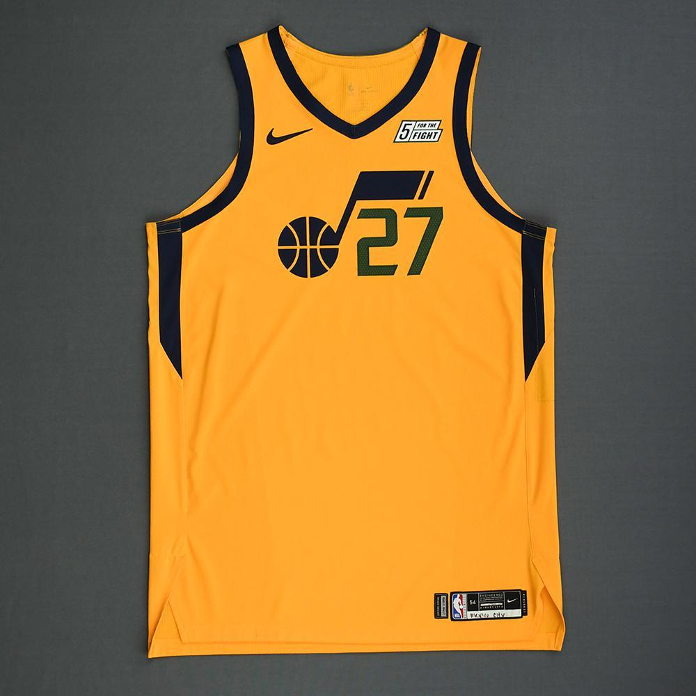 7399dd460 Rudy Gobert - Utah Jazz - Mexico Games - Game-Worn Statement Edition Jersey  -