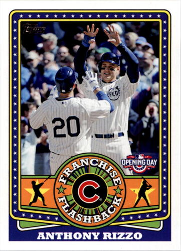 Photo of 2015 Topps Opening Day Franchise Flashbacks #FF05 Anthony Rizzo