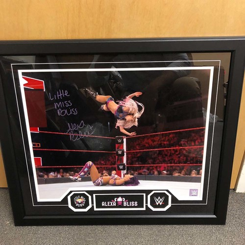 Photo of Alexa Bliss Autographed 20x24 Framed Photo Plaque