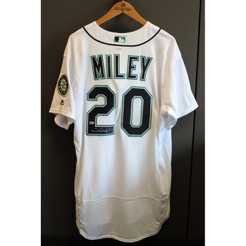 Photo of Wade Miley Autographed Jersey