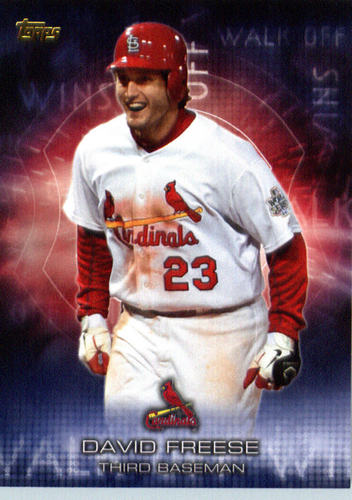 Photo of 2016 Topps Walk Off Wins #WOW5 David Freese