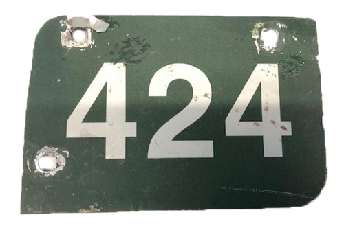 Photo of 12 Days of Auctions: Day 11 -- Wrigley Field Collection -- Aisle Marker 424