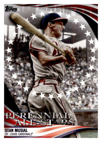 Photo of 2019 Topps Update Perennial All Stars #PAS12 Stan Musial