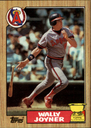 Photo of 1987 Topps #80 Wally Joyner RC