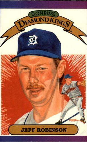 Photo of 1989 Donruss #18 Jeff M. Robinson DK