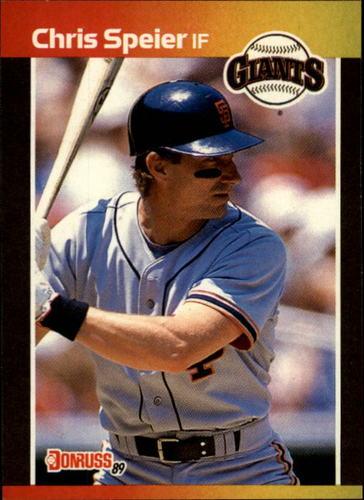 Photo of 1989 Donruss #532 Chris Speier DP