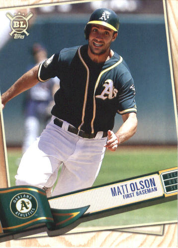Photo of 2019 Topps Big League #334 Matt Olson