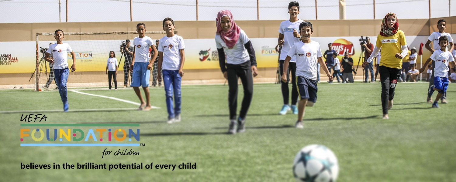 UEFA Foundation for Children believes in the brilliant potential of every child