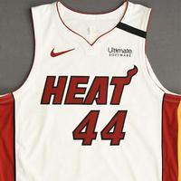 Solomon Hill - Miami Heat - Game-Worn Association Edition Jersey - 2019-20 NBA Season Restart with Social Justice Message