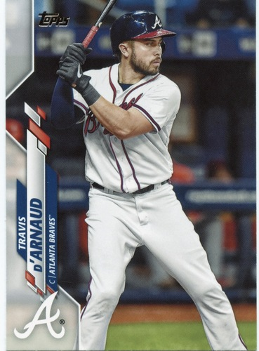 Photo of 2020 Topps #436 Travis d'Arnaud