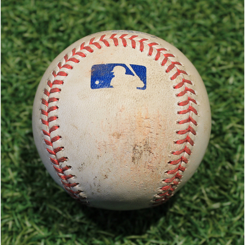Photo of Game-Used Baseball: Tyler Chatwood 618th Career Strikeout (CHC @ KC 8/6/20)