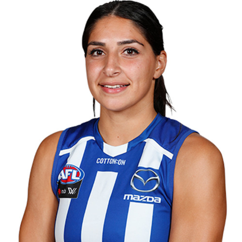 Photo of LOT ZZG - 2021 AFLW AWAY GUERNSEY - MATCH WORN BY VIVIEN SAAD #39