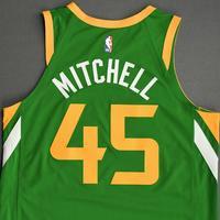 Donovan Mitchell - Utah Jazz - Game-Worn Earned Edition Jersey - Scored Game-High 28 Points - 2020-21 NBA Season