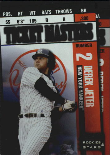 Photo of 1998 Leaf Rookies and Stars Ticket Masters #6 D.Jeter/A.Pettitte