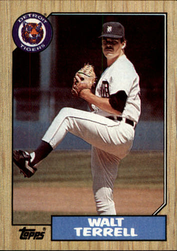 Photo of 1987 Topps #72 Walt Terrell