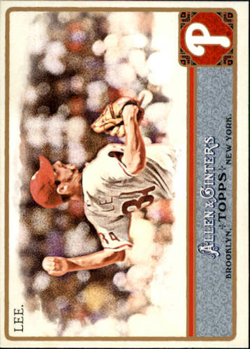 Photo of 2011 Topps Allen and Ginter #290 Cliff Lee