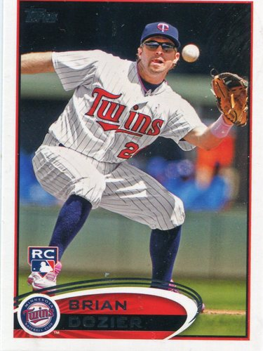 Photo of 2012 Topps Update #US161 Brian Dozier Rookie Card