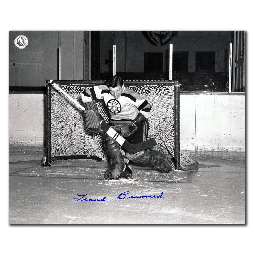 Frank Brimsek Boston Bruins Autographed 8x10