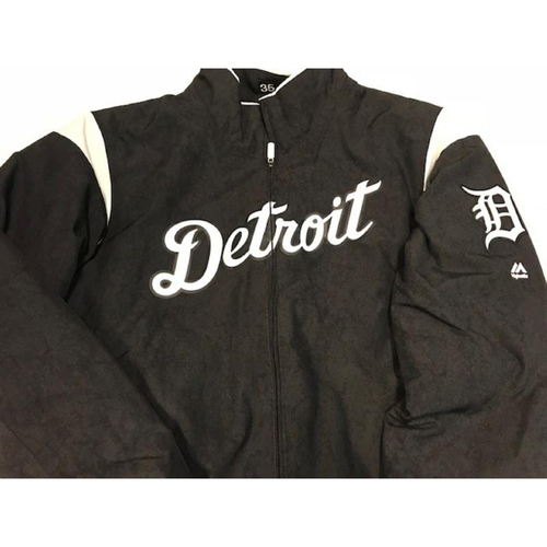 Team-Issued Justin Verlander Home Bench Jacket