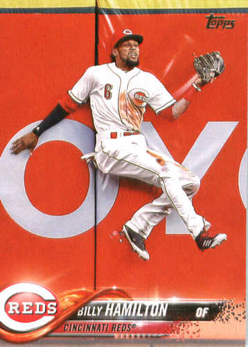 Photo of 2018 Topps #68 Billy Hamilton