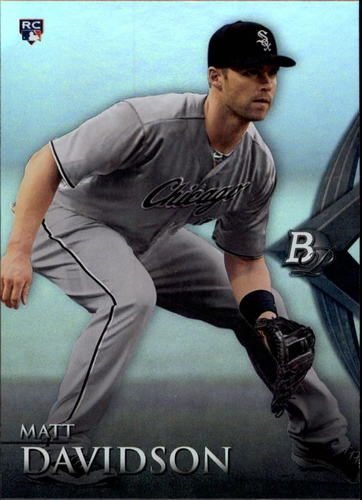 Photo of 2014 Bowman Platinum #85 Matt Davidson  Rookie Card