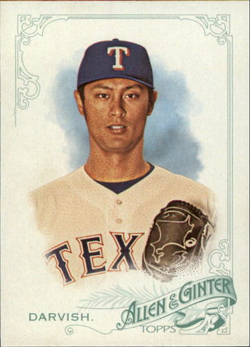 Photo of 2015 Topps Allen and Ginter #261 Yu Darvish