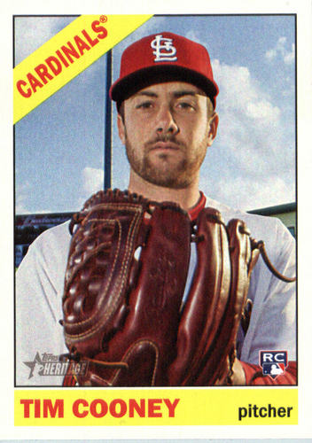 Photo of 2015 Topps Heritage #678 Tim Cooney RC