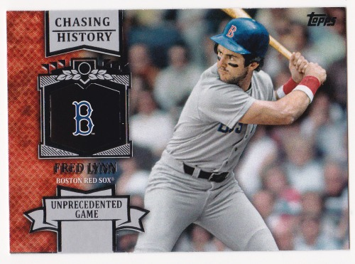 Photo of 2013 Topps Chasing History #CH59 Fred Lynn