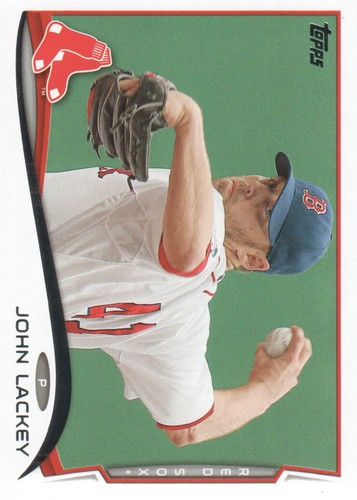 Photo of 2014 Topps #632 John Lackey