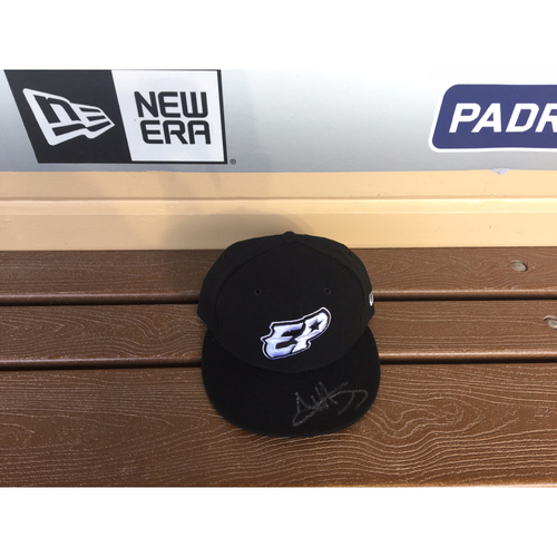 Photo of El Paso Victims Relief Fund Auction San Diego Padres Signed Austin Hedges El Paso Chihuahuas Hat