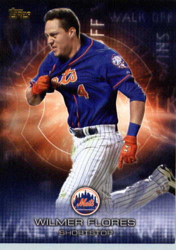 Photo of 2016 Topps Walk Off Wins #WOW7 Wilmer Flores