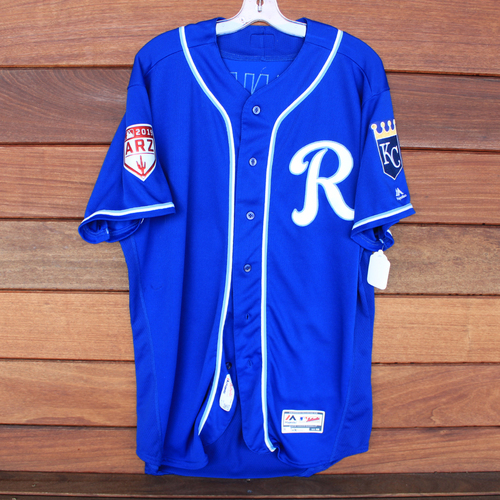 Photo of Team-Issued Spring Training Jersey: Ian Kennedy (Size 48)