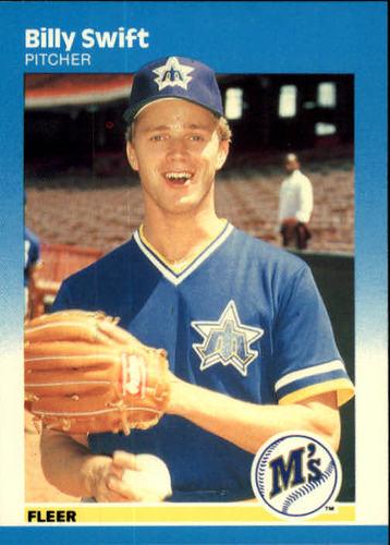 Photo of 1987 Fleer #597 Billy Swift