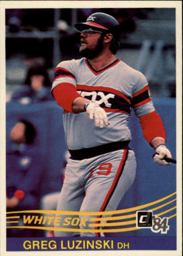 Photo of 1984 Donruss #122 Greg Luzinski