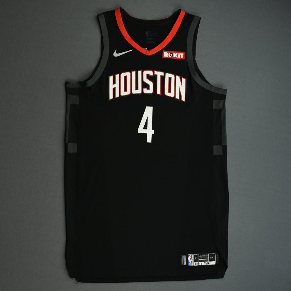 Danuel House Jr. - Houston Rockets - Game-Worn Statement Edition Jersey - NBA Japan Games - 2019-20 NBA Season