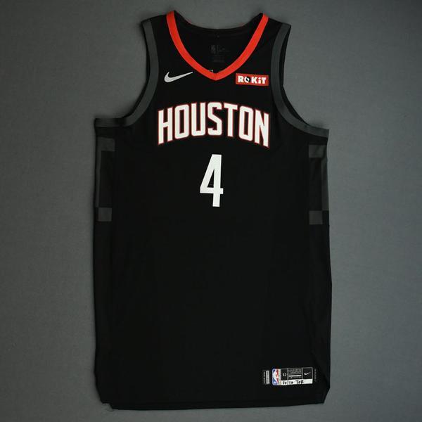 Image of Danuel House Jr. - Houston Rockets - Game-Worn Statement Edition Jersey - NBA Japan Games - 2019-20 NBA Season